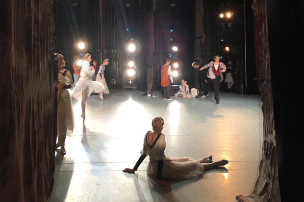 Backstage at the Mikhailovsky Theatre