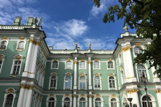 The Hermitage, St Petersburg