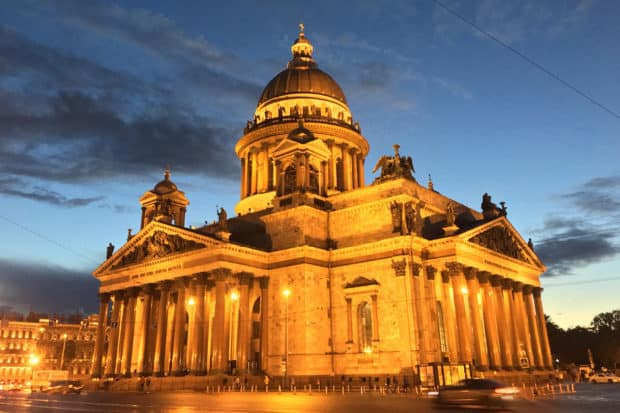 Saint Isaac's Cathedral, St Petersburg