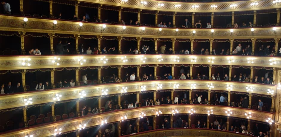 Palermo's stunning Teatro Massimo is a must for opera lovers.