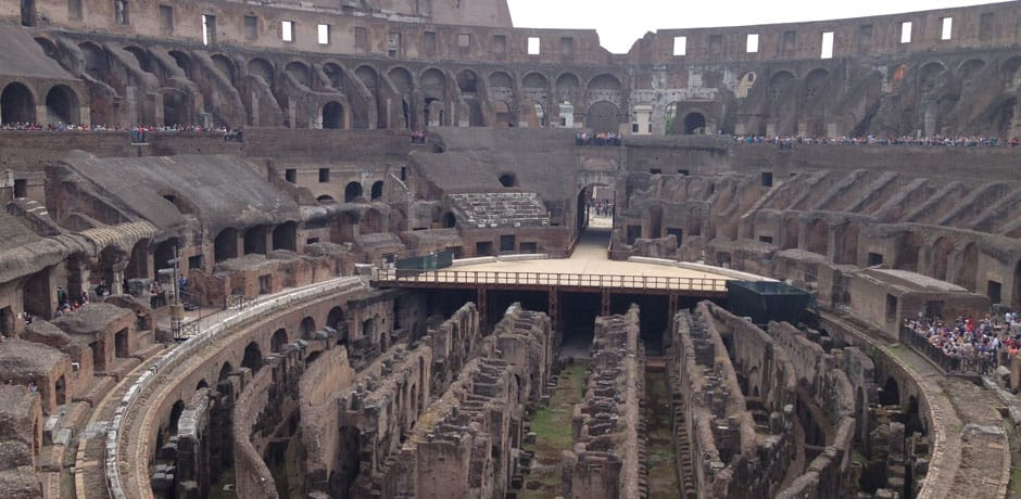 With the animated story-telling of one of Indagare's favorite guides, you could almost feel the energy of the 80,000 Roman spectators who used to fill the Colosseum after it's opening in 80 AD.