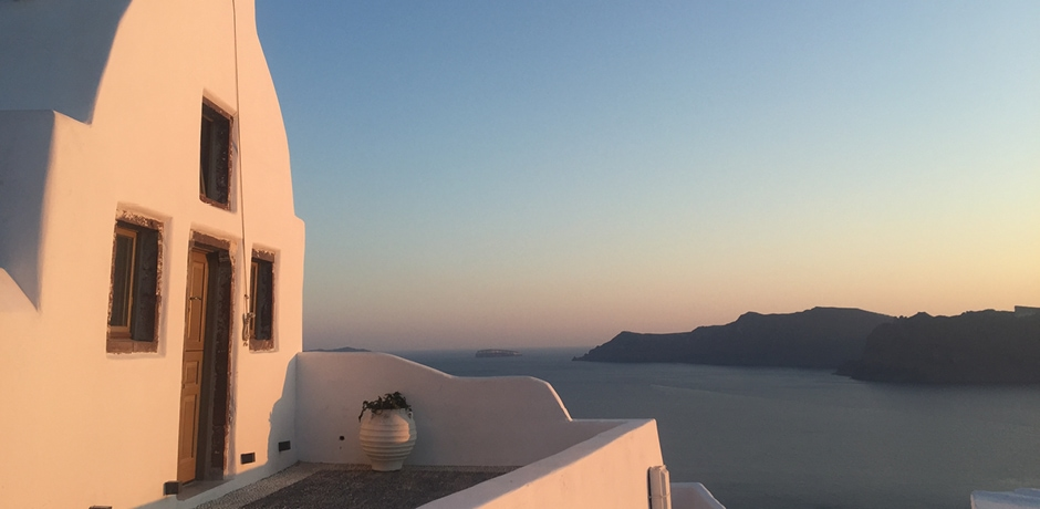 Santorini, photo by Emma Pierce