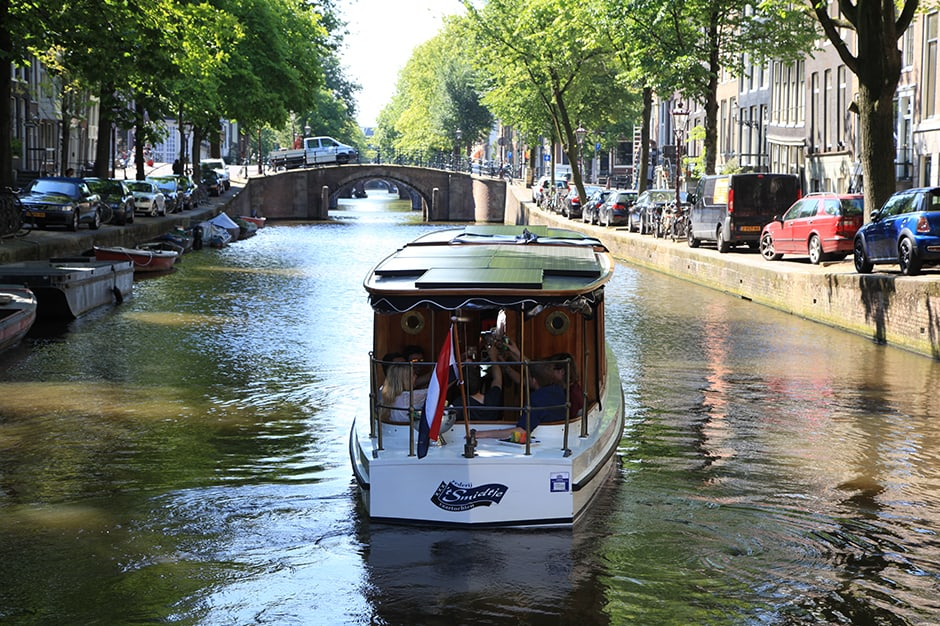 Aerial View-Indagare Tours: Canal Cruises ,Amsterdam, Netherlands-Courtesy I Amsterdam