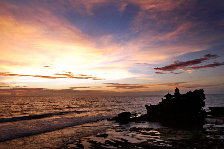 Sea View-Beach Walk: Seminyak to Tanah Lot Temple , Bali, Indonesia