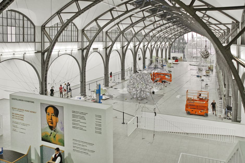 Interior View-Hamburger Bahnhof ,Berlin, Germany