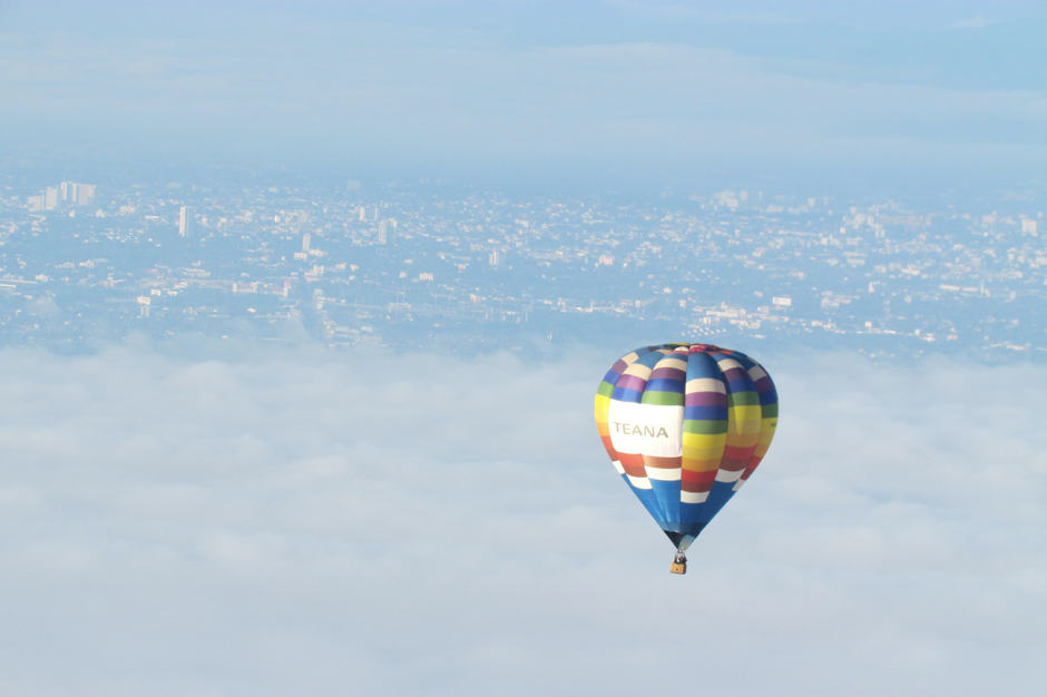 Aerial View - Indagare Tours: Hot Air Ballooning,Chiang Mai, Thailand