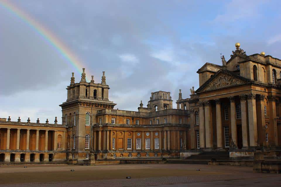 Exterior View - Blenheim Palace,Cotswolds, England