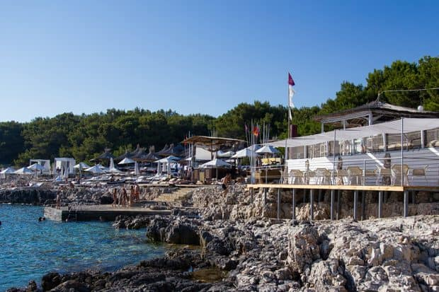 Carpe Diem Beach Club in Croatia