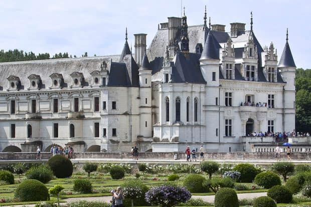 The Loire Valley's Chenonceau, the most-visited private chateau in France