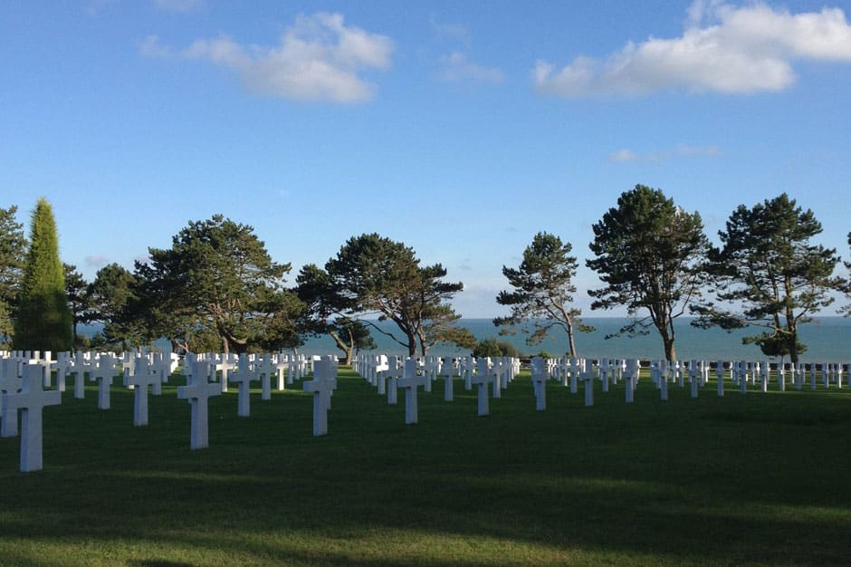 Indagare Tours: The American Cemetery at Colleville-sur-Mer