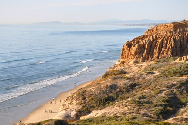 Sea View -Torrey Pines State Natural Reserve, San Diego, California - Courtesy San Diego Tourism Authority, Lisa Field