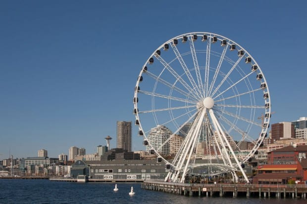 Great Wheel - Seattle Great Wheel  , , Pacific Northwest ,Courtesy of Howard Fisk