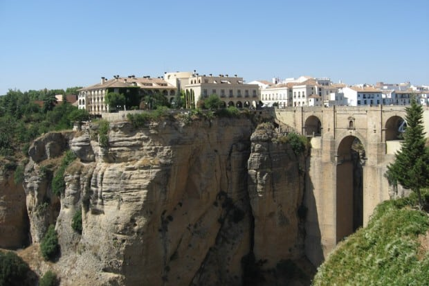 City of Ronda in Andalusia, Southern Spain