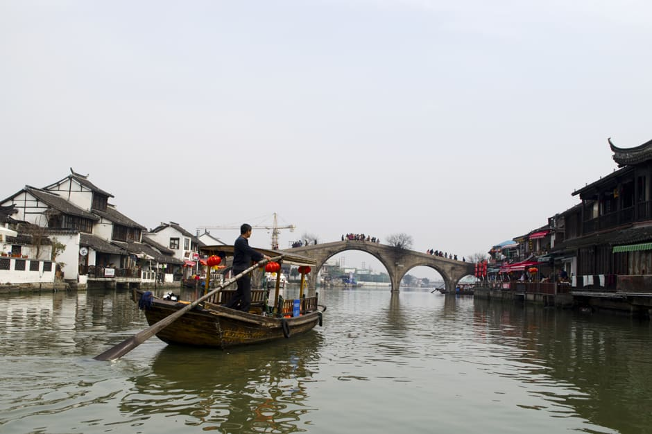 Day Trip: Zhujiajiao Ancient Water Village