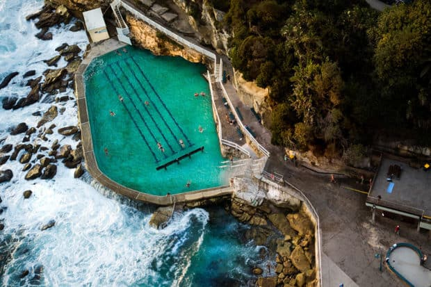 The Bronte Baths at Bronte Beach