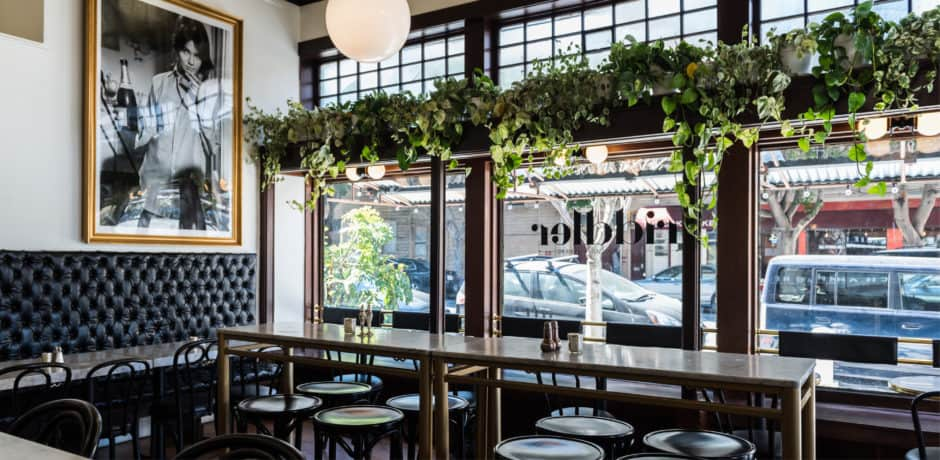 The charming, sophisticated interiors of The Riddler San Francisco, which is led by an all-women team. Photo courtesy of The Riddler.