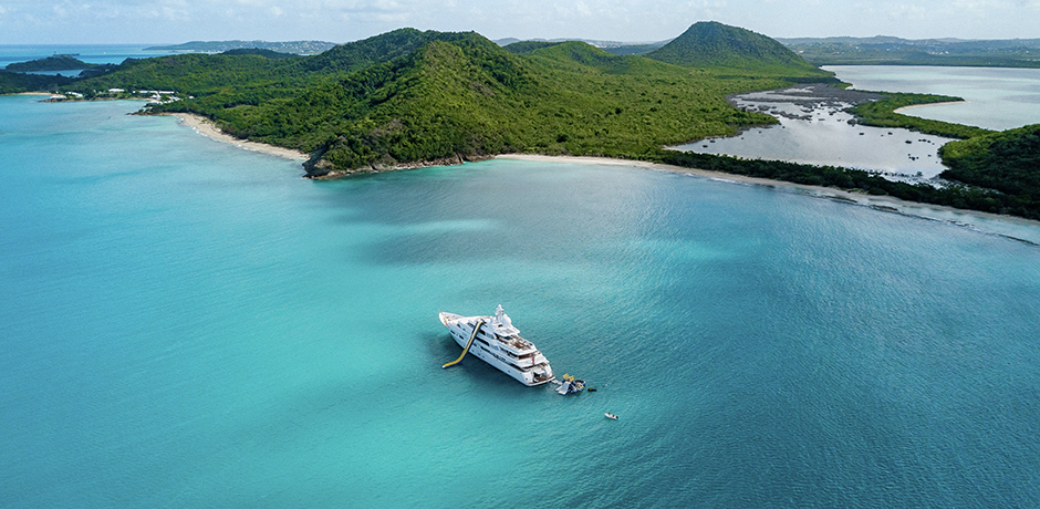 Yachting in the Caribbean. Courtesy Burgess Yachts