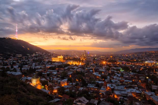 The capital of Georgia, Tbilisi, provides a culture-packed jumping off point (with great local restaurants) for adventures in the wine region.