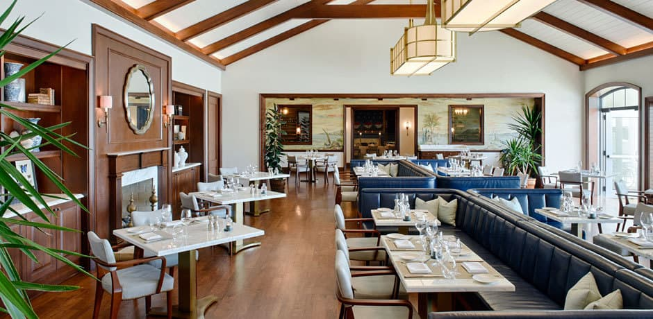 The Island Brasserie at Rosewood Bermuda, Courtesy Bermuda Tourism