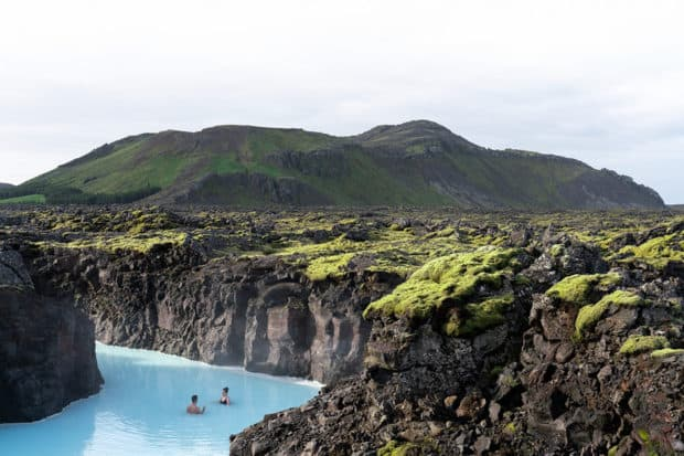 The spa at the Retreat at Blue Lagoon, Iceland. Photo courtesy the Retreat at Blue Lagoon.