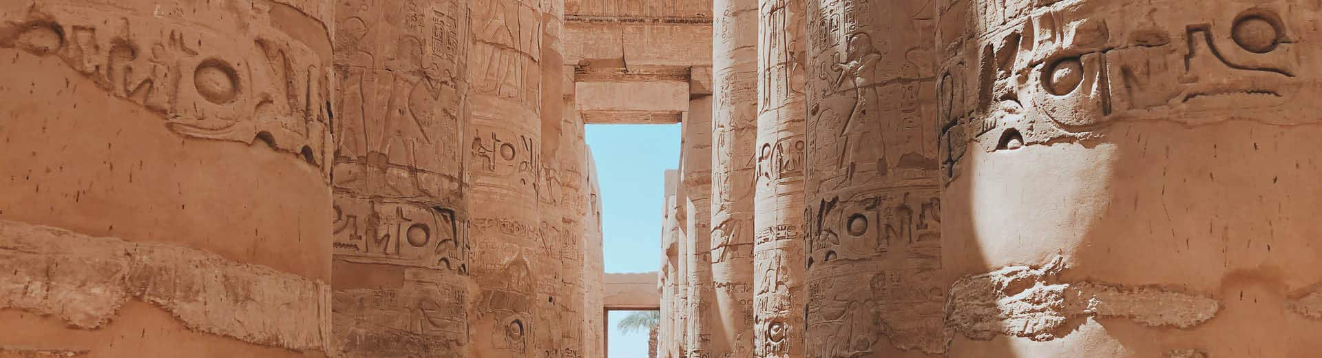 indagare departures treasures of egypt temple columns
