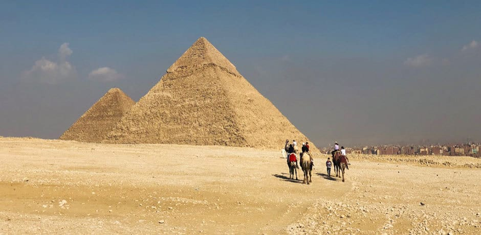 Several Indagare members on November's Insider Journey to Egypt