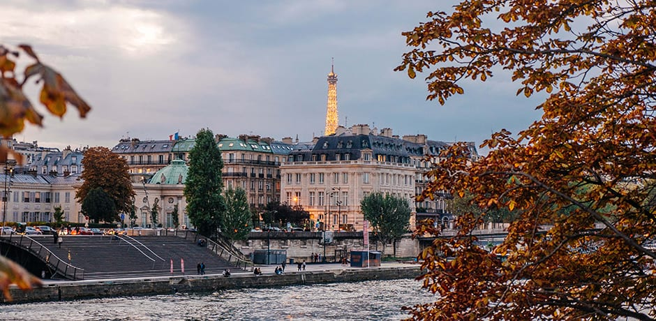 A scenic Paris view, courtesy Anthony Delanoix
