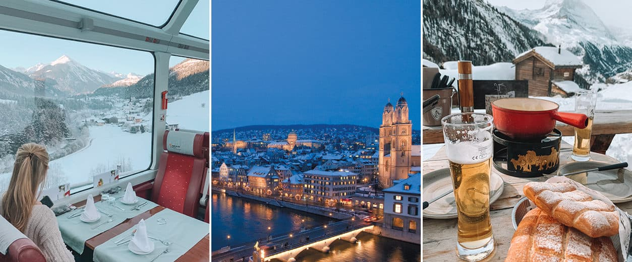 The Best of Switzerland: A Taste of Zurich, St. Moritz, Zermatt and Geneva
