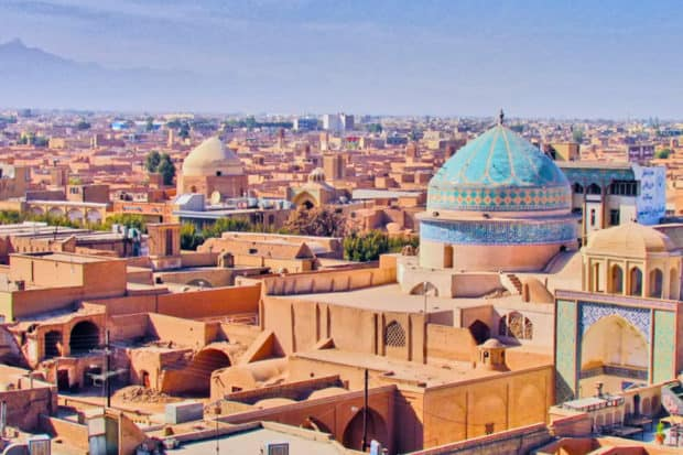 The old city of Yazd.