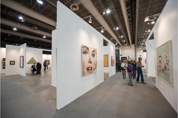 The ZONAMACO art fair in Mexico City.