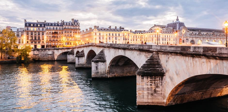 Paris at dusk, courtesy Anthony Delanoix. Indagare's guides to shopping and summer dining in the City of Lights were two of the most read articles this year.