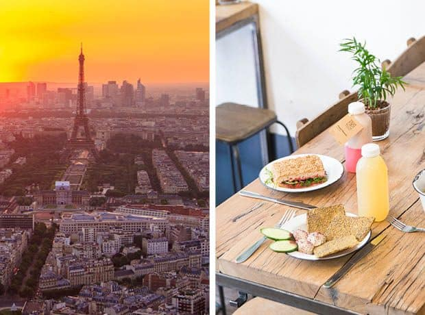 Healthy Food in Paris: Top Tables