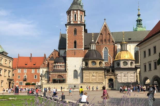 Wawel Royal Castle in Krakow