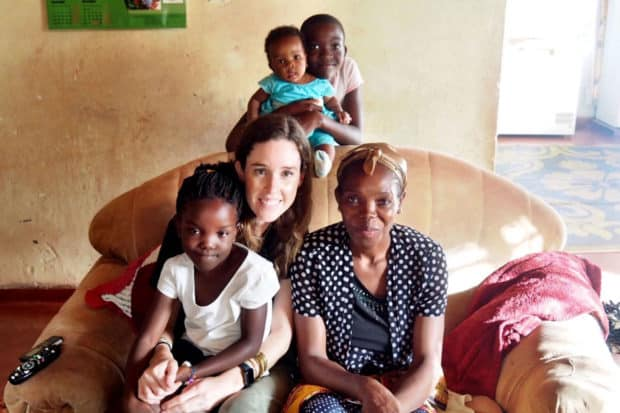 Indagare's Rose Allen working with Maloto in Malawi
