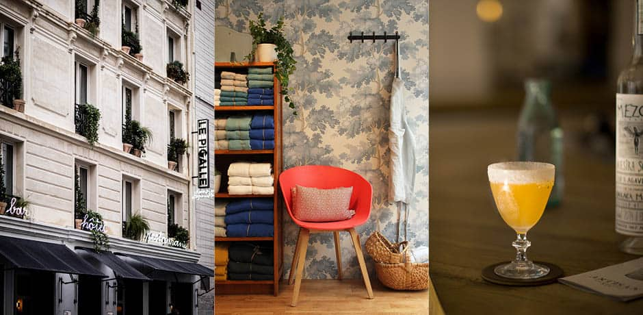 From left: Le Pigalle; Lab Boutique; Artisan Bar