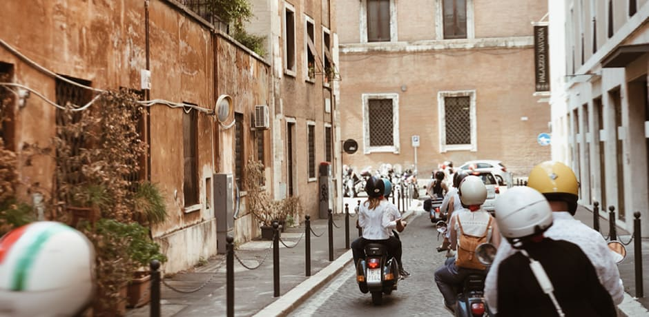 Touring Rome à la Audrey Hepburn in a Roman Holiday—by Vespa!