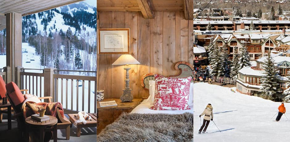 Courtesy Four Seasons Jackson Hole, Les Fermes de Marie, Little Nell