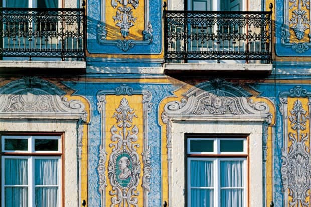 Tiles in Lisbon, courtesy Jose Manuel